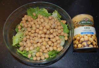 chick peas salad